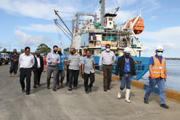 NFA Executive Management and Local Government Officials Visit the Proposed PMIZ site
