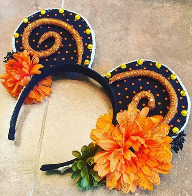 Fall Minnie Ears - SOLD