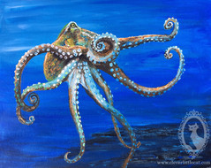 Octopus Study - For Sale