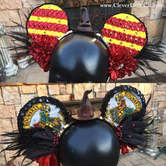 Custom Harry Potter Themed Mickey Ears