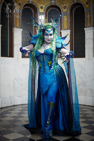 Sea Queen Costume - 2013