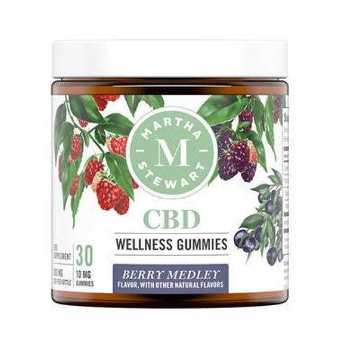 Martha Stewart - CBD Edible - Berry Medley Gummies - 300mg