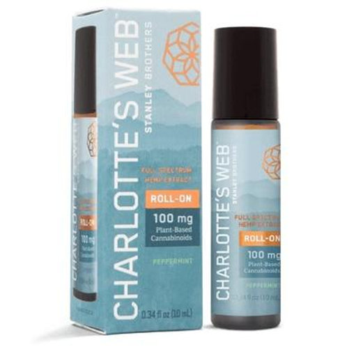 Charlottes Web - CBD Topical - Full Spectrum Peppermint Roll-On - 100mg
