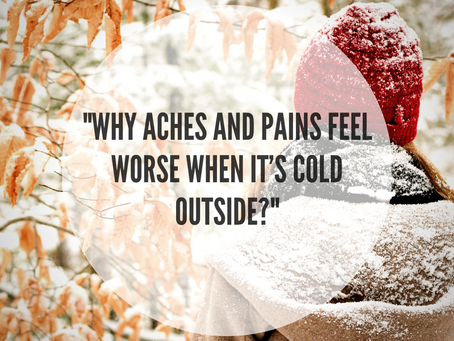 """Why Aches And Pains Feel Worse When It's Cold Outside?"""