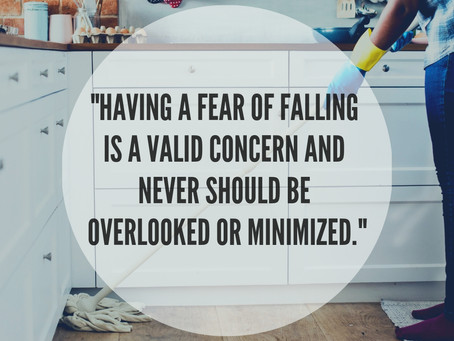 """One important question to ask yourself if you have sustained a fall or having walking problems"""