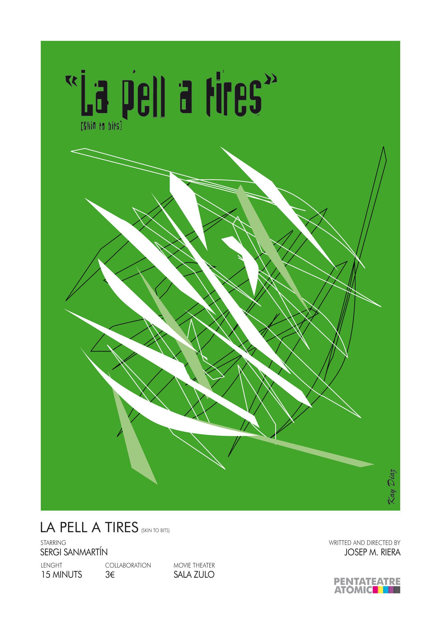 """Cartell """"La pell a tires"""""""