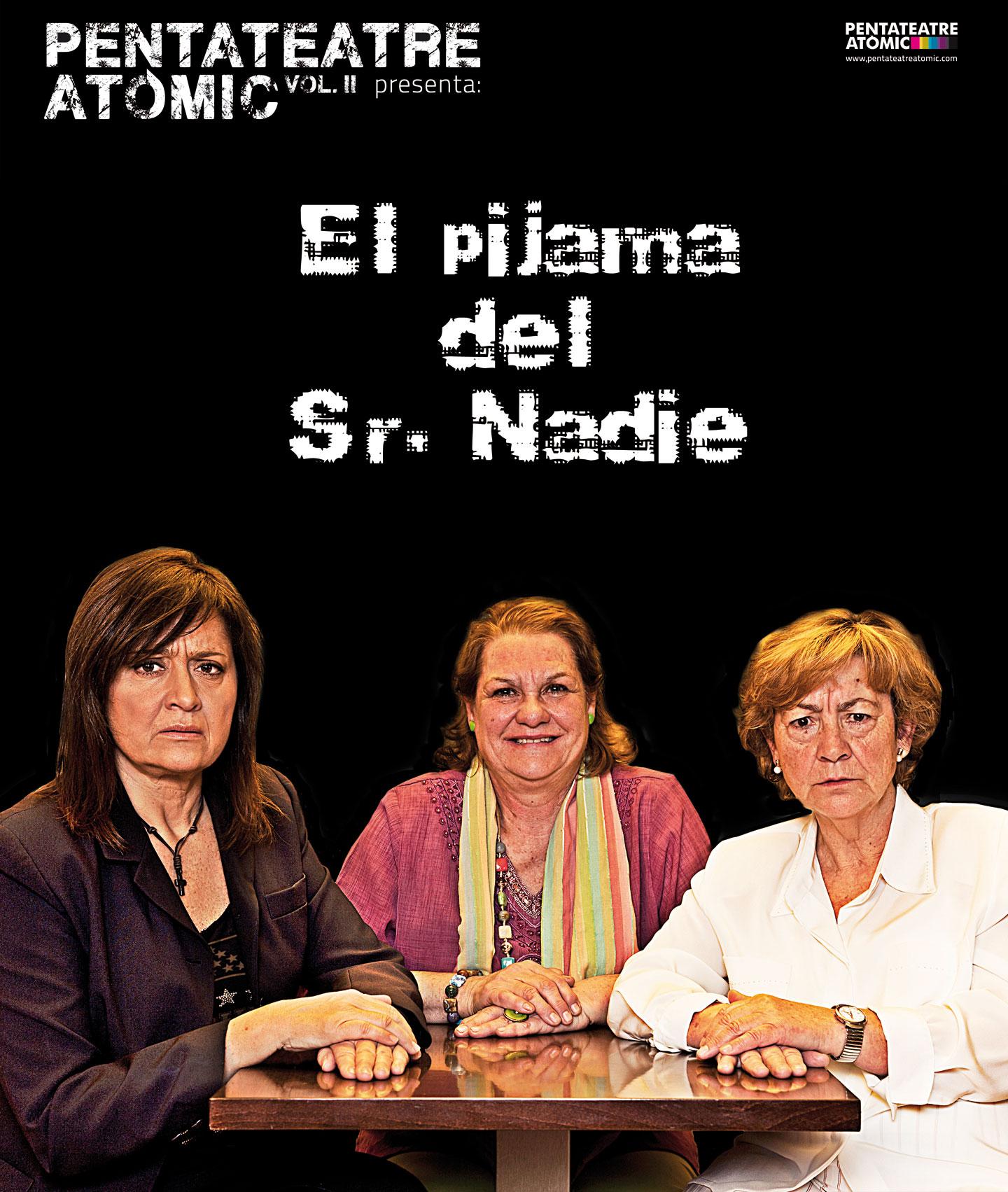 "Cartell ""El pijama del sr. Nadie"""