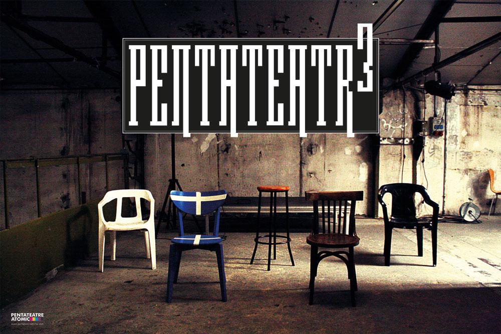 """Cartell """"Pentateatre Atòmic Vol. 3"""""""