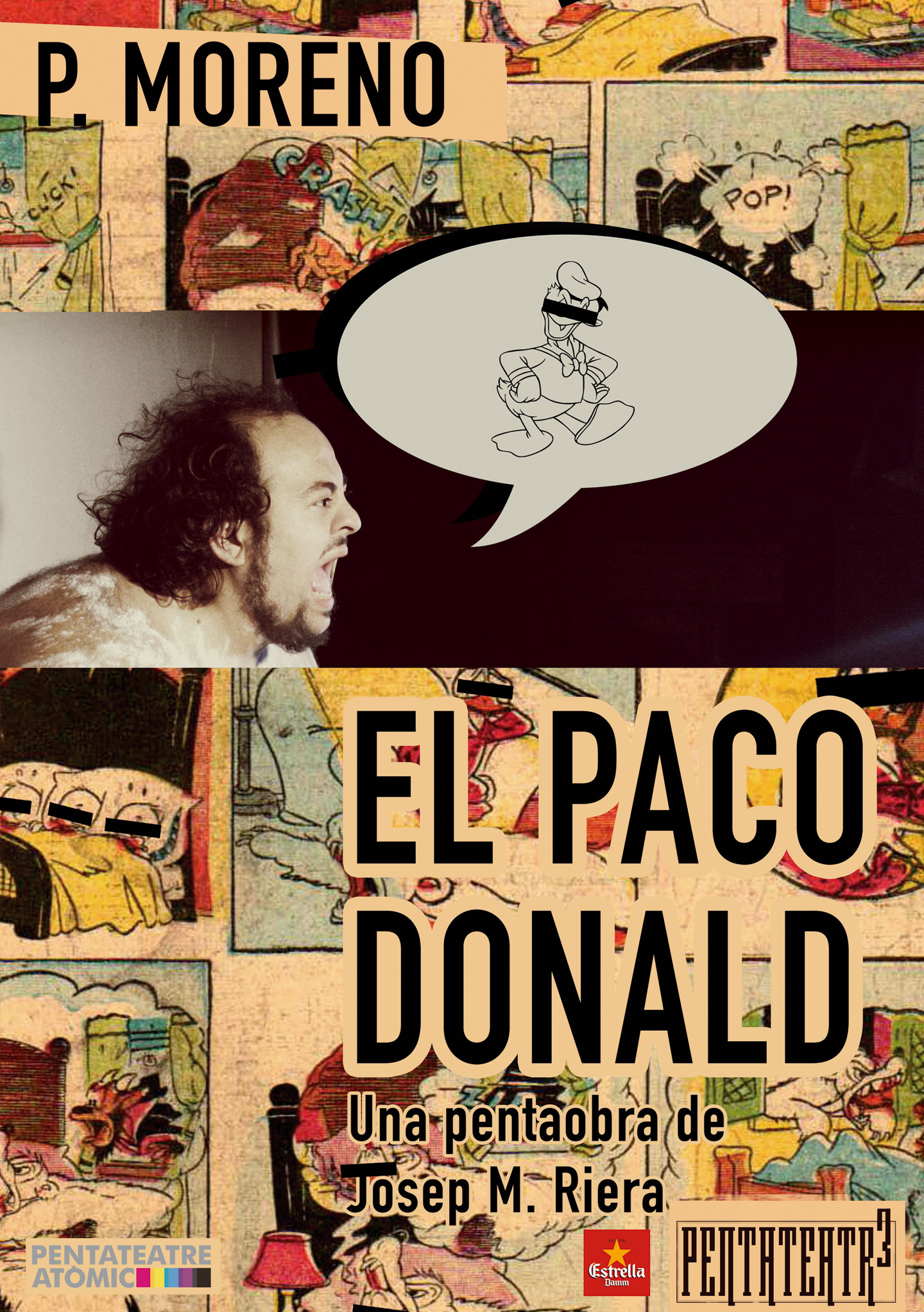 "Cartell ""El Paco Donald"""