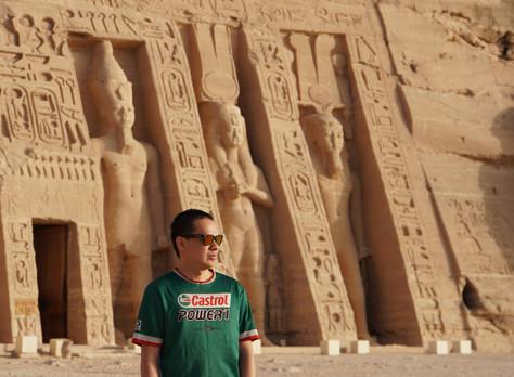 Masuk ke negara 15, Mesir.