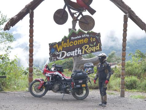Riding ke Death Road Bolivia