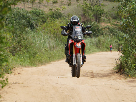 Riding together to Mozambique