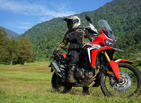 First impressions riding Honda Africa Twin