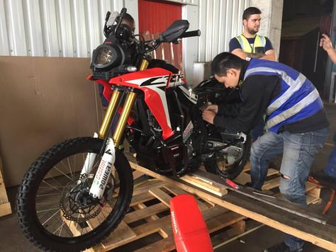 Motorbike Arrived