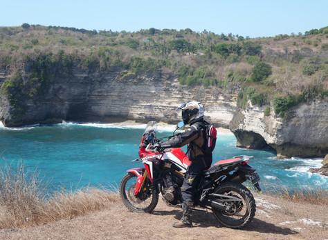 Explore Bali with Honda CRF1000L