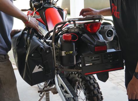 Motorcycle Preps for Wheel Story season 5
