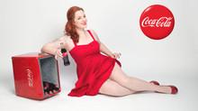 Vintage Style Coke Ad