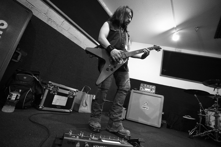 """A Day in the Life of Ministry Guitarist"" Sin Quirin"