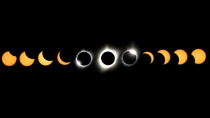 Total Solar Eclipse (Composite)