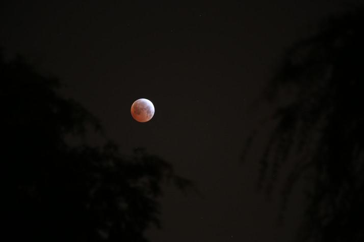 Shortest Total Lunar Eclipse of the Century