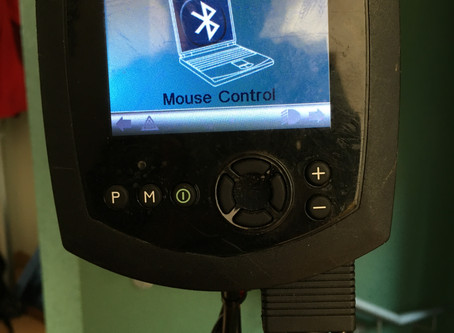 Computersteuerung mit Rollstuhl-Joystick