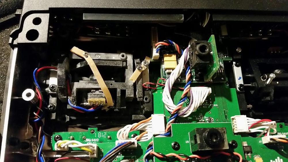 Roland Linder macht die DX 18 leichtgängiger