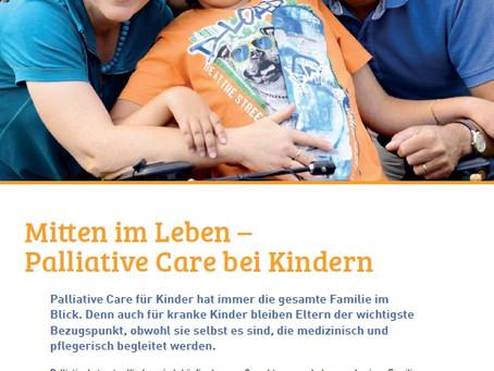 """Artikel im """"Focus"""" von Palliativ Care (Zug)"""