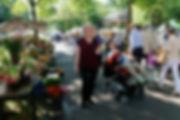 Geburtstag von Lars: Markt in Zürich