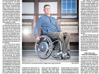 Artikel in der Luzerner Zeitung