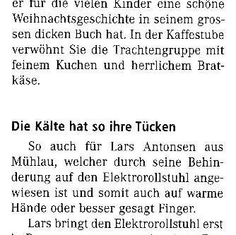 Fingerli-Heizung vom Trachtenverein Mühlau