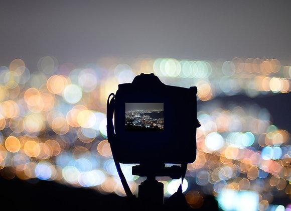 Cupón regalo curso de fotografía nocturna