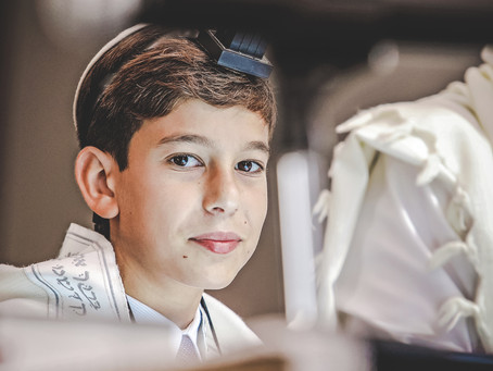 Bar Mitzvah Documentary photography: Bari at Chabad South Synagogue & Rustiko Restaurant, Miami FL