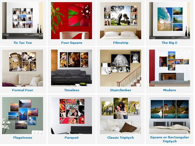 Splits & Clusters: Available in plexiglass, metalprints, canvas, you name it!