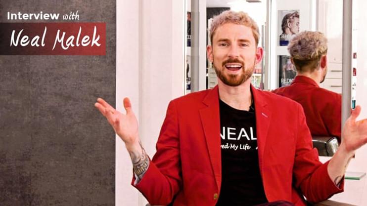 Intro of stylist Neal Malek for StyleZ