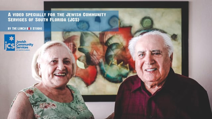 """Holocaust Survivors video for """"Fashion with a Purpose"""" event / JCS"""