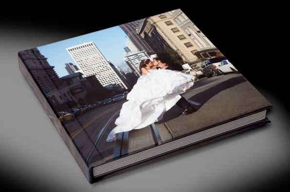 Hard cover, photo-wrapped and flushmount