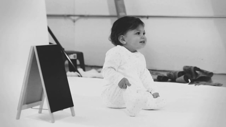 """Making-of video of 2-days photoshoot for the brand """"Noomie"""", delicate baby clothes made of exclusive materials."""