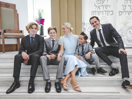 Bar Mitzvah documentary coverage: Adrian E. at Aventura Chabad South
