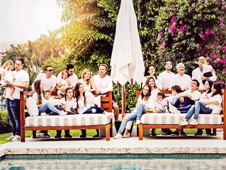 BIG Family portrait session: Dornbusch family photography in Sunny Isles, Fl