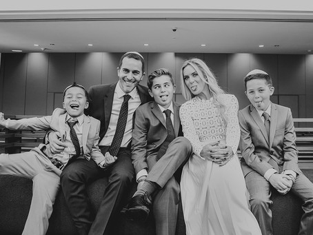 Bar Mitzvah documentary photography: Luis at Chabad South Synagogue, Aventura FL