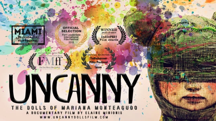 """(Official Trailer) """"UNCANNY: The Dolls of Mariana Monteagudo"""". A documentary film by Elaine Minionis"""