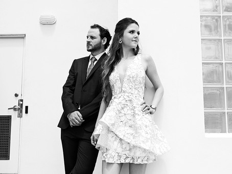 Ofrif event photography: Samantha & Mark at Chabad South in Miami, FL