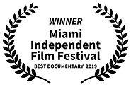 WINNER - Miami Independent Film Festival