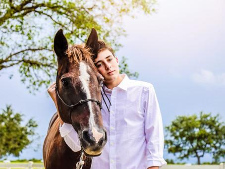 Bar Mitzvah boy photoshoot: Alan Benacerraf & Family at Weston, FL