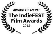 AWARD OF MERIT - The IndieFEST Film Awar