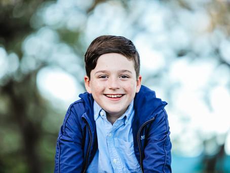 Kid Talent photoshoot with Enrique Parisca: actor, singer & model in Florida