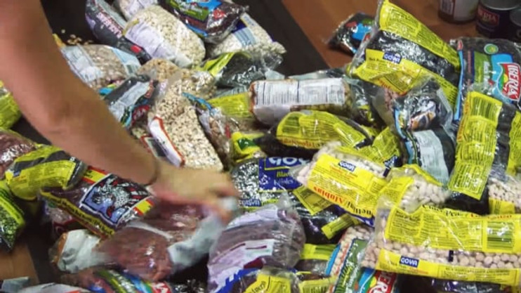Low-budget video for a non-profit organization, CADENA FOUNDATION, while they were recollecting food to take to Haiti.