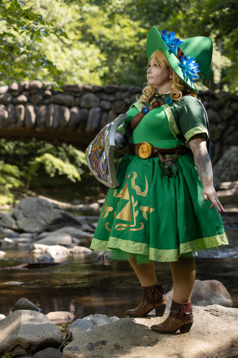 Cosplay - Witch Link - Sunset Dragon