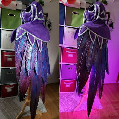 Xayah's Cloak W/neopixels