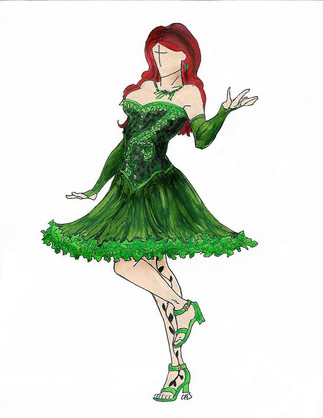 Pinup Poison Ivy